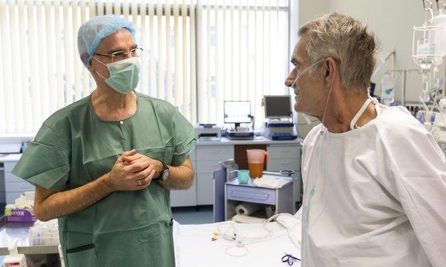Hat órán át tartott az első magyar tüdőtranszplantáció