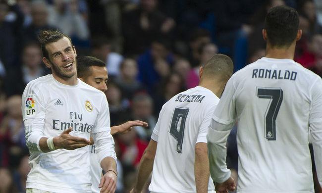 Elgázolta ellenfelét a Real, 10 gólt rúgtak a Vallecanónak