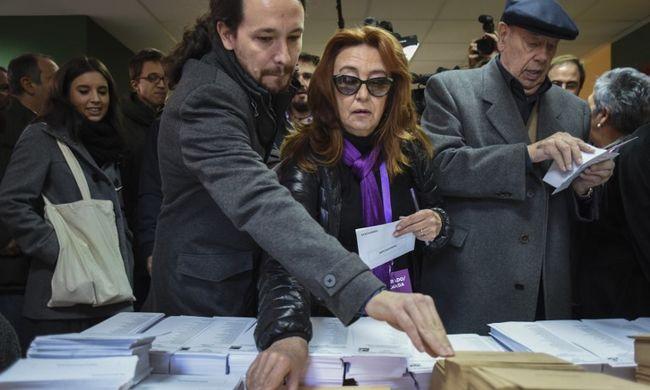 Spanyol választás: kevesebben szavaztak, mint négy éve