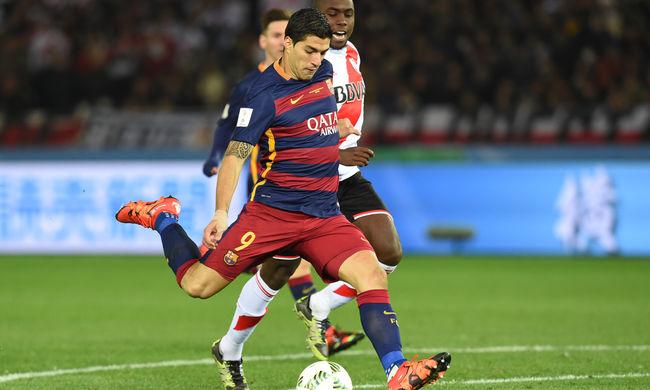 Szenzációs Suárez: a Barcelona nyerte a klubvilágbajnokságot