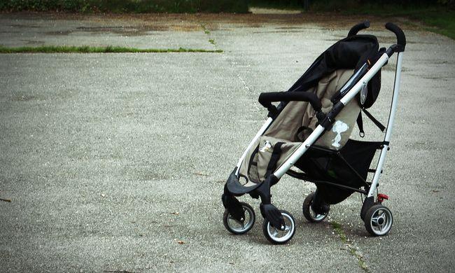 Botrány a XX. kerületben: szemetes mellett hagyta gyerekét az anya