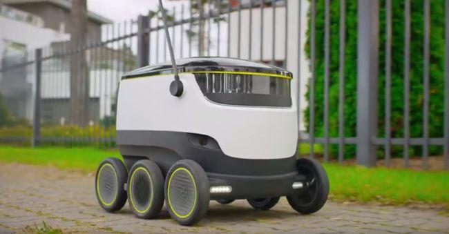Leválthatják a futárokat a robotok