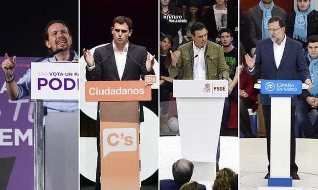 Sosem volt még ennyire kiélezett a spanyol választás, mint most