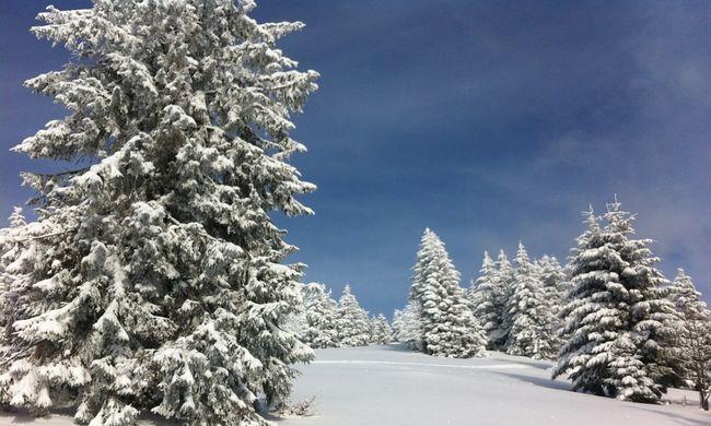 Hőség és fagy karácsonykor: ezek az eddigi rekordok