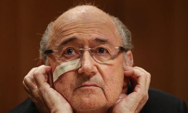 Blatter azt ígéri: még visszatér