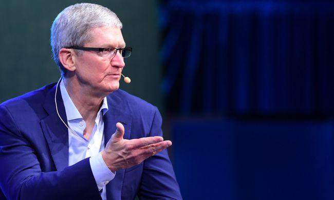 Vádolja az amerikai kormány az Apple-t