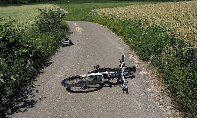 Biciklizés közben gyerek arcába fúródott egy faág
