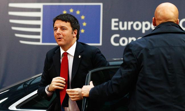 Az olasz kormányfőnek elege van spórolásból