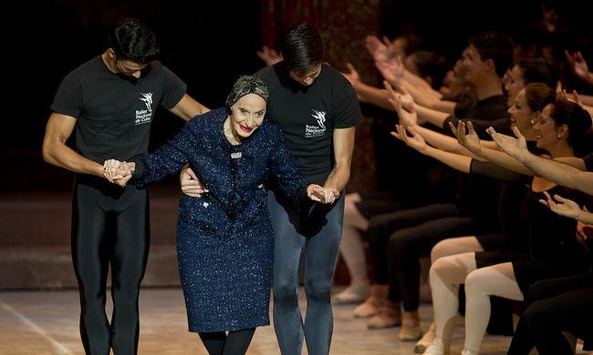 95 éves minden idők egyik legnagyobb táncosa