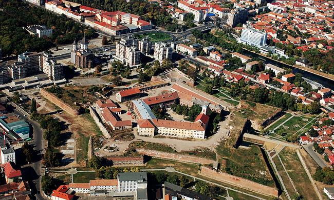 Befejezték a nagyváradi vár felújítását