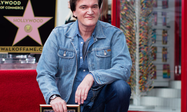 Tarantino csillagot kapott