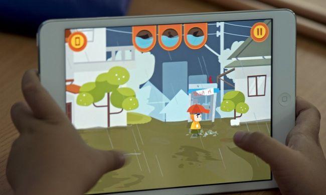Már kétéves korban tudják használni a gyerekek az érintőképernyőt