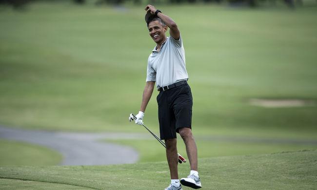 Nézze meg, mekkorát ütött Obama - videó