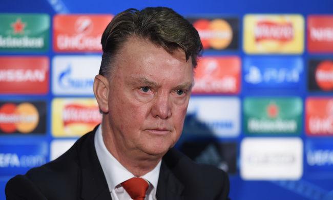 Otthagyta a sajtótájékoztatót a Manchester United edzője