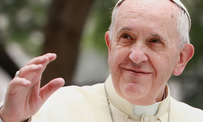 Még az ateisták is szeretik Ferenc pápát