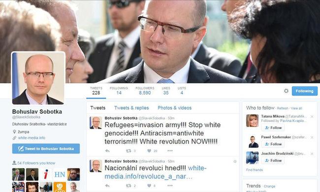 Feltörték a miniszterelnök Twitterét