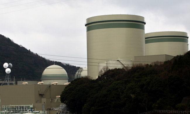 Leállítottak egy japán atomerőművet