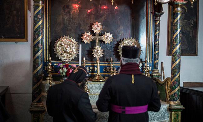 Készülnek a karácsonyra Betlehemben