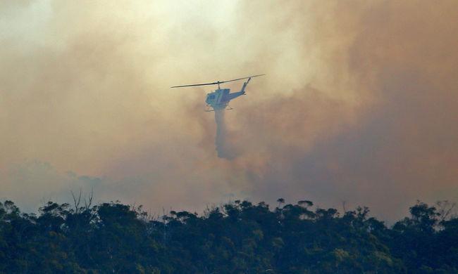 Erdőtűz karácsonykor: 50 ház már biztosan leégett