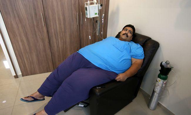 Meghalt a világ legkövérebb embere