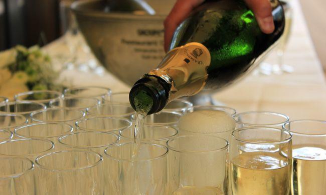 Szilveszter előtt vizsgálták a pezsgőket - videó