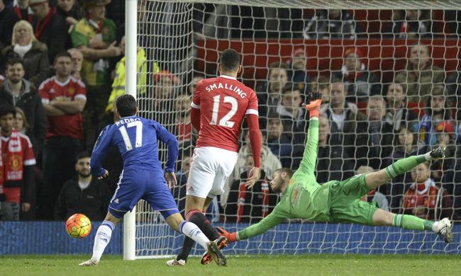 Kapusbravúrok: a Manchester United nem tudta legyőzni a Chelsea-t sem - videók!