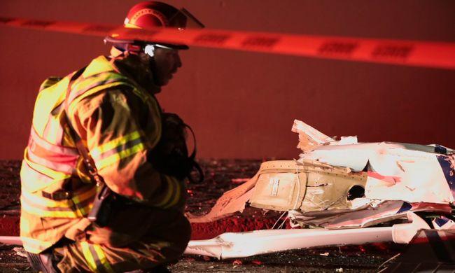 Lezuhant egy kisrepülő, egy ember meghalt