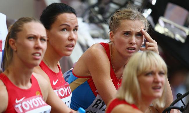 Nem lesznek ott az orosz atléták az olimpián