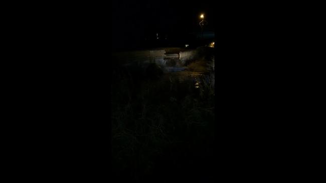 Videóra vették, ahogy lerombolt egy 18. századi hidat az áradás