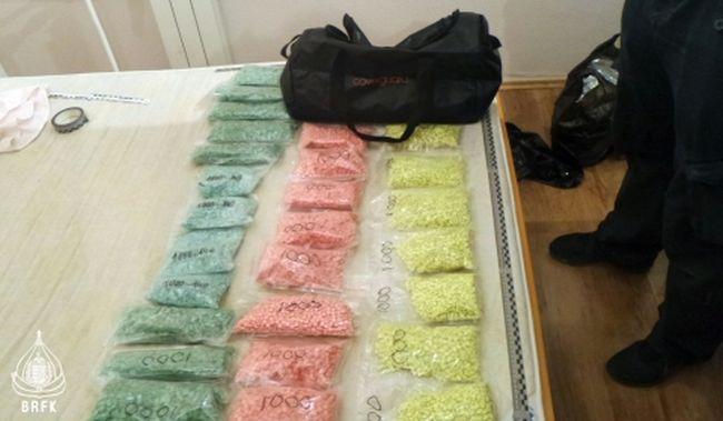 77 milliós értékű kábítószert rejtegetett a lakásában