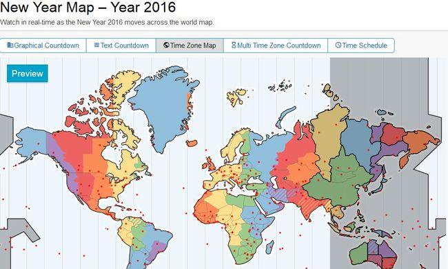 Ezen a térképen követheti hol van már 2016!