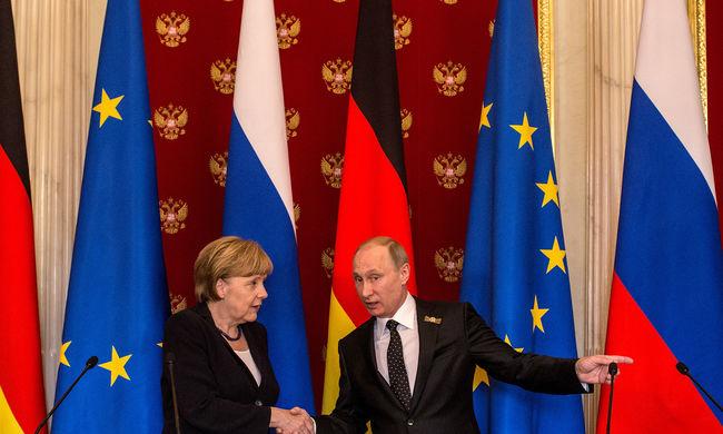 Putyin most Merkelnek üzent