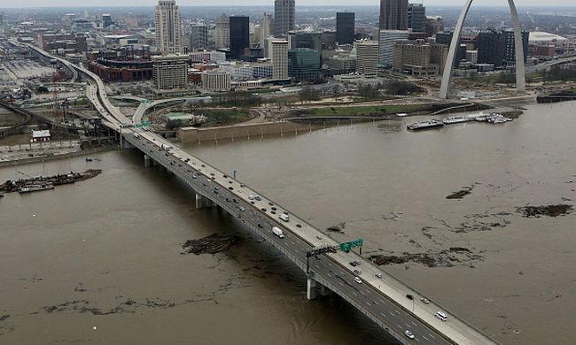 Rendkívüli állapot: minden eddiginél nagyobb áradások lesznek