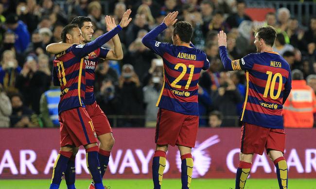 Barcelona: hét játékos az év csapatában
