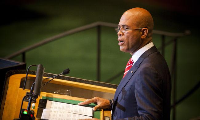 Kitűzte a választás időpontját a haiti elnök