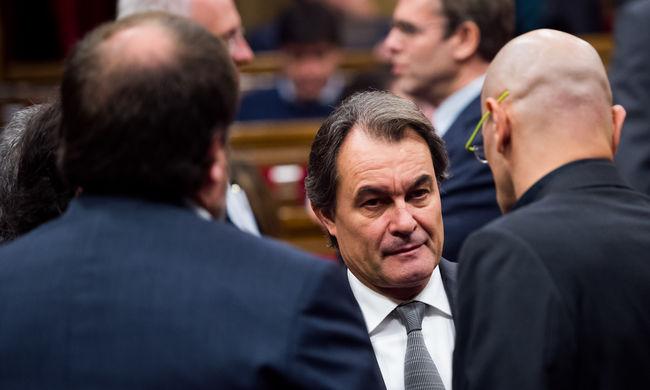 Katalónia elnökét nem tudják újraválasztani