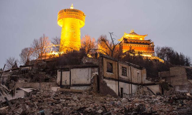 Újra látogatható a leégett ősi tibeti város