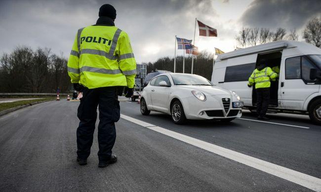 A migránsok miatt ellenőriznek a dán-német határon
