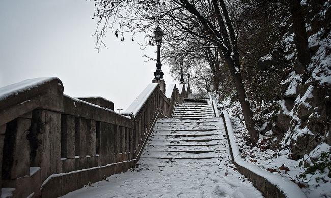 Ma is nagyon hideg lesz és újra eshet a hó