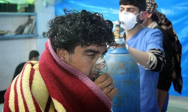 Vizsgálják, hogy bevetettek-e ideggázt Szíriában