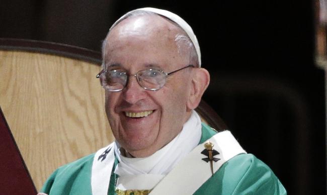 Ferenc pápa újévi poénja - videóval