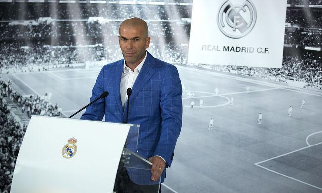Jön Zidane a Realba: 13 év alatt ő a 14. edző