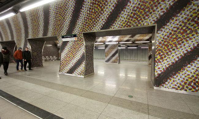 Dráma Budapesten: mindenki beszorult a metrómegálló liftjébe