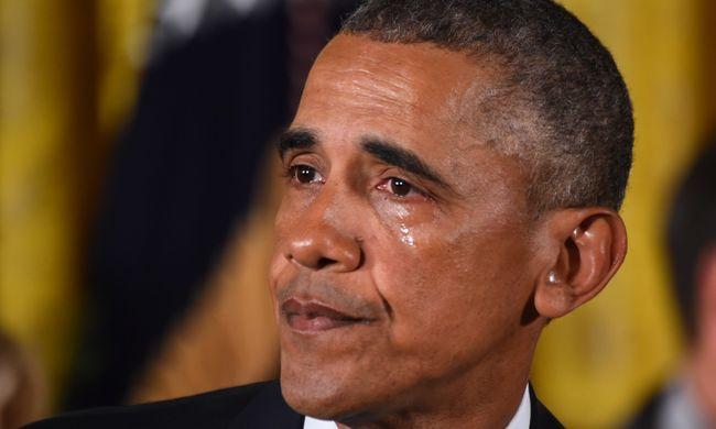 Az amerikai elnökök gyakran sírnak