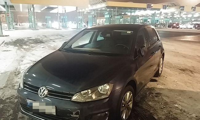 Röszkéig jutott a Németországban bérelt autóval