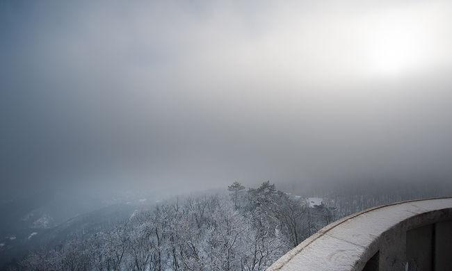 Készüljön: hó borítja a hétvégét
