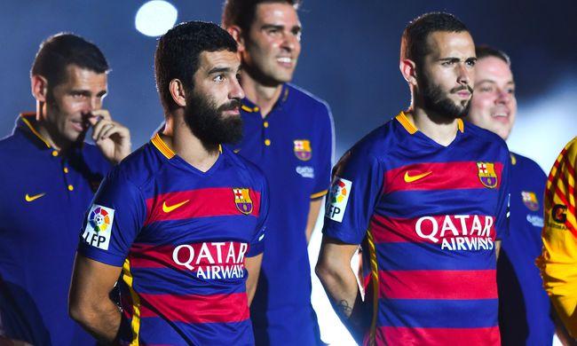 Fél évet várt rá, hogy játszhasson a Barcelonában, ma kezdeni fog