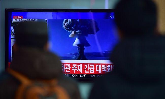 Az utóbbi idők legerősebb nukleáris fegyverét tesztelhette Észak-Korea