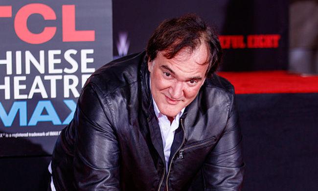 Megörökítették Tarantino kézlenyomatát Hollywoodban