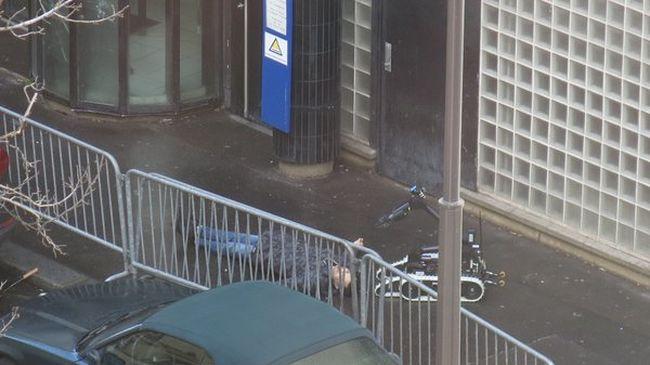 Párizsi támadás: robotot küldtek a terrorista holttestéhez - fotó